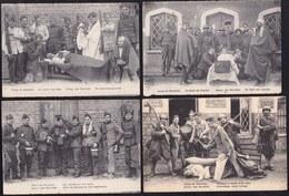 5 X CAMP DE BEVERLOO ( Bourg Leopold ) - HUMOUR AU CASERNE - 5 Scans - Humoristiques