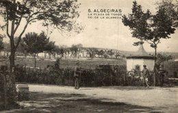 ALGECIRAS (CADIZ ) - LA PLAZA DE TOROS DESDE LA ALAMEDA - Cádiz