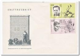 DDR 1963, FDC, Sport - FDC: Enveloppes