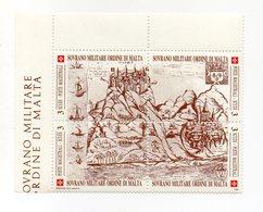 S.M.O.M. - 1990 - Antiche Fortezze - 1^ Serie - 4 Valori Con Bordo Di Foglio Angolare - Nuovi - Vedi Foto - (FDC13809) - Malte (Ordre De)