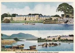 Postcard The Lake Hotel In Lovely Scenery Killarney Ireland  My Ref  B23306 - Kerry