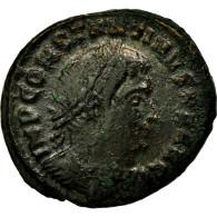 Monnaie, Constantin I, Nummus, 313-314, Ticinum, TB+, Cuivre, RIC:21 - 7. L'Empire Chrétien (307 à 363)