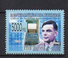 GUINEA BISSAU. TURING PRIZE. MNH (2R2731) - Computers