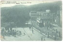 Roma- Montecompatri-monte Compatri -stazione Ferrovie.vicinali Stefer- Treno.viagg.1925 - Altre Città