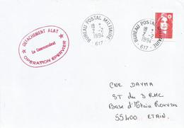 Tchad 1994 BPM 617 ALAT Operation Epervier Military Cover - Marcophilie (Lettres)