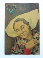 André Stéfan, Personnage Traditionnel, Coiffe, Angoumois - Künstlerkarten