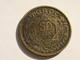 273/ MAROC 50 FRANCS EMPIRE CHERIFIEN 1371 - Maroc