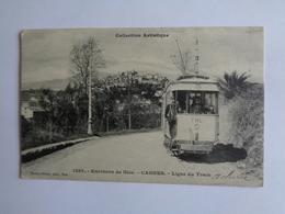 Environs De Nice - Cagnes - Ligne Du Tram - Schienenverkehr - Bahnhof