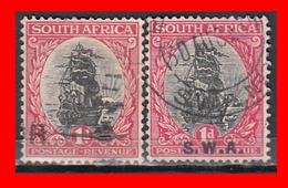 SUID AFRICA 2 SELLOS AÑO 1926 - Oficiales