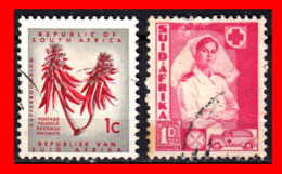 SUID AFRICA 2 SELLO AÑO  1941 - Oficiales