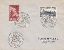 OBLIT. GF ILLUSTRÉE INTERCELTIQUE SAINT BRIEUC 07/47 - Marcophilie (Lettres)