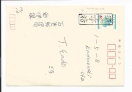 Japan BC 3 -  40 Yen Blätter Ganzsache Als Dienstpost Bedarfsverwendet - Ganzsachen