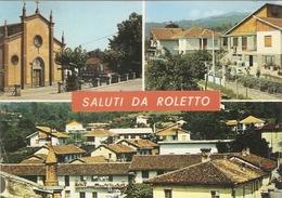 444/FG/19 - TORINO -  ROLETTO: Saluti Da, Con Vedutine - Other