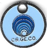 Jeton De Caddie  Argenté  OR . GE . CO  L'Organisation Générale Des Consommateurs  Voir  Description - Jetons De Caddies