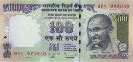 India 100 Rupees (P105)  Letter R 2012 -UNC- - Inde