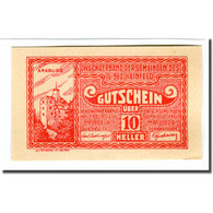 Billet, Autriche, Hainfeld, 10 Heller, Texte, 1920, SPL, Mehl:340a - Autriche