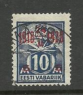ESTLAND Estonia 1928 O MÄKSA Auf Michel 71 - Estonia