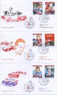 SAN MARINO - FDC VENETIA  2005 - FERRARI - AUTO - SPORT  - VIAGGIATE - FDC