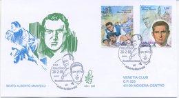 SAN MARINO - FDC VENETIA  2005 - BEATO ALBERTO MARVELLI - VIAGGIATA - FDC