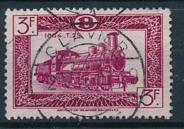 "TR 307  - ""CLAVIER"" - Brugstempel - (ref. 26.291) - Railway"