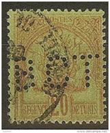 Tunisie-Perforé-Ancoper BCT 1-Indice 6 - Tunisie (1888-1955)