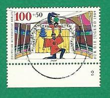 1989 N° 802 LE CIRQUE ÉQUILIBRISTES JONGLEURS OBLITÉRÉ MARGE  TB - [5] Berlin