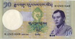 Bhutan 10 Ngultrum (P29) 2006 -UNC- - Bhoutan