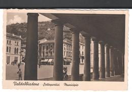 Treviso-valdobbiadene-sottoportici-municipio-viagg.1939 - Treviso