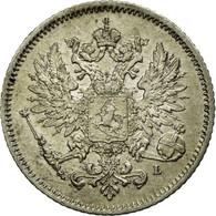 Monnaie, Finlande, Nicholas II, 25 Penniä, 1909, SUP, Argent, KM:6.2 - Finlande