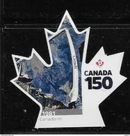 CANADA 2017  #3004i, CANADA 150th  CANADARM  SINGLE  DIE CUT - Carnets