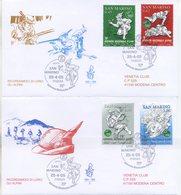 SAN MARINO - FDC VENETIA  2005 - ADUNATA DEGLI ALPINI - VIAGGIATA - FDC