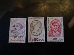 FRANCE 1976   N°  1880  à  1882   NEUF**   20% - France