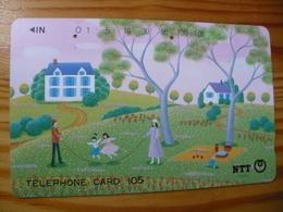 Phonecard Japan 390-228 - Japon