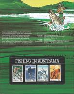 Australia 1979 Fishing In Australia, Boat, Fish - 1966-79 Elizabeth II
