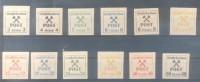 GROSSPRUSCHEN GROSSPREUSCHEN COMPLETE SET MNH TBE RARE - GRAN PRUSIA - Occupation 1938-45