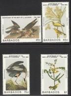 BARBADOS  1985  BIRDS  SET  MNH - Oiseaux