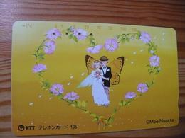 Phonecard Japan 291-008 Moe Nagata - Japon