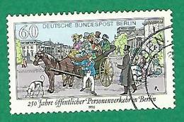 * 1990 N° 822 TRANSPORT PUBLIC A BERLIN  OBLITÉRÉ TB - [5] Berlin