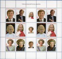 Dutch Antilles 2008 Succession Of Queen Beatrix By King Willem Alexander Block Issue MNH Princes Amalia - Familles Royales