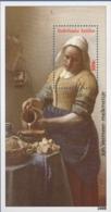 Dutch Antilles 2008 Melkmeisje By Johannes Vermeer Block Issue MNH Milkmaid Painting 17th Century - Arts