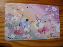 Phonecard Japan 291-175 Moe Nagata - Japon