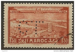Maroc-Perforé-Ancoper C.L 10-Indice 3 - Maroc (1891-1956)