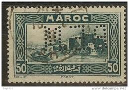 Maroc-Perforé-Ancoper B.E.M 7-Indice 3 - Maroc (1891-1956)
