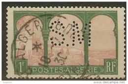 Algérie-Perforé-Ancoper S.M 34-Indice 3 - Algérie (1924-1962)