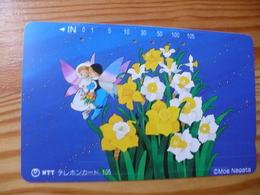 Phonecard Japan 290-379 Moe Nagata - Japon