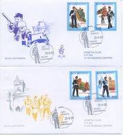 SAN MARINO - FDC VENETIA  2005 - MILIZIA UNIFORMATA - VIAGGIATA - FDC