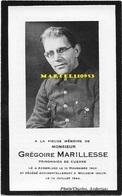 Marillesse Grégoire - Prisonnier De Guerre Anderlues 1903 - Mulheim Allemagne 1944 - Décès