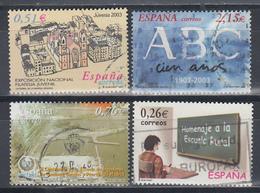 2003 LOTE DE SELLOS - 2001-10 Gebraucht