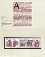 Australia 1980 National Stamp Week, Postman, Mailbox - 1980-89 Elizabeth II