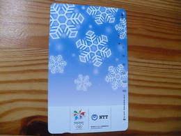 Phonecard Japan 231-230 Olympics, Nagano - Japon